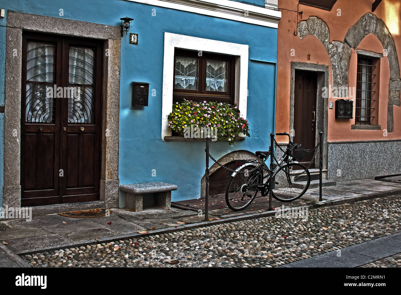 Domodossola - Italy - Piemont Stock Photo