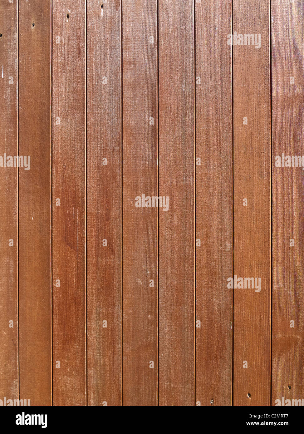 Wood texture - wooden fence panels close up - Stock Image