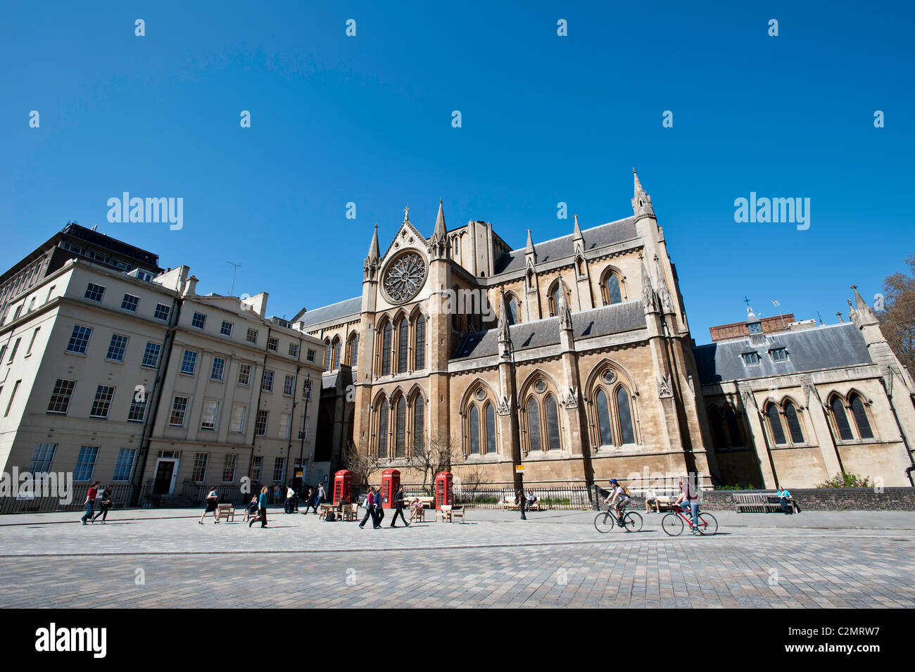 Church of Christ the King, Bloomsbury, United Kingdom - Stock Image