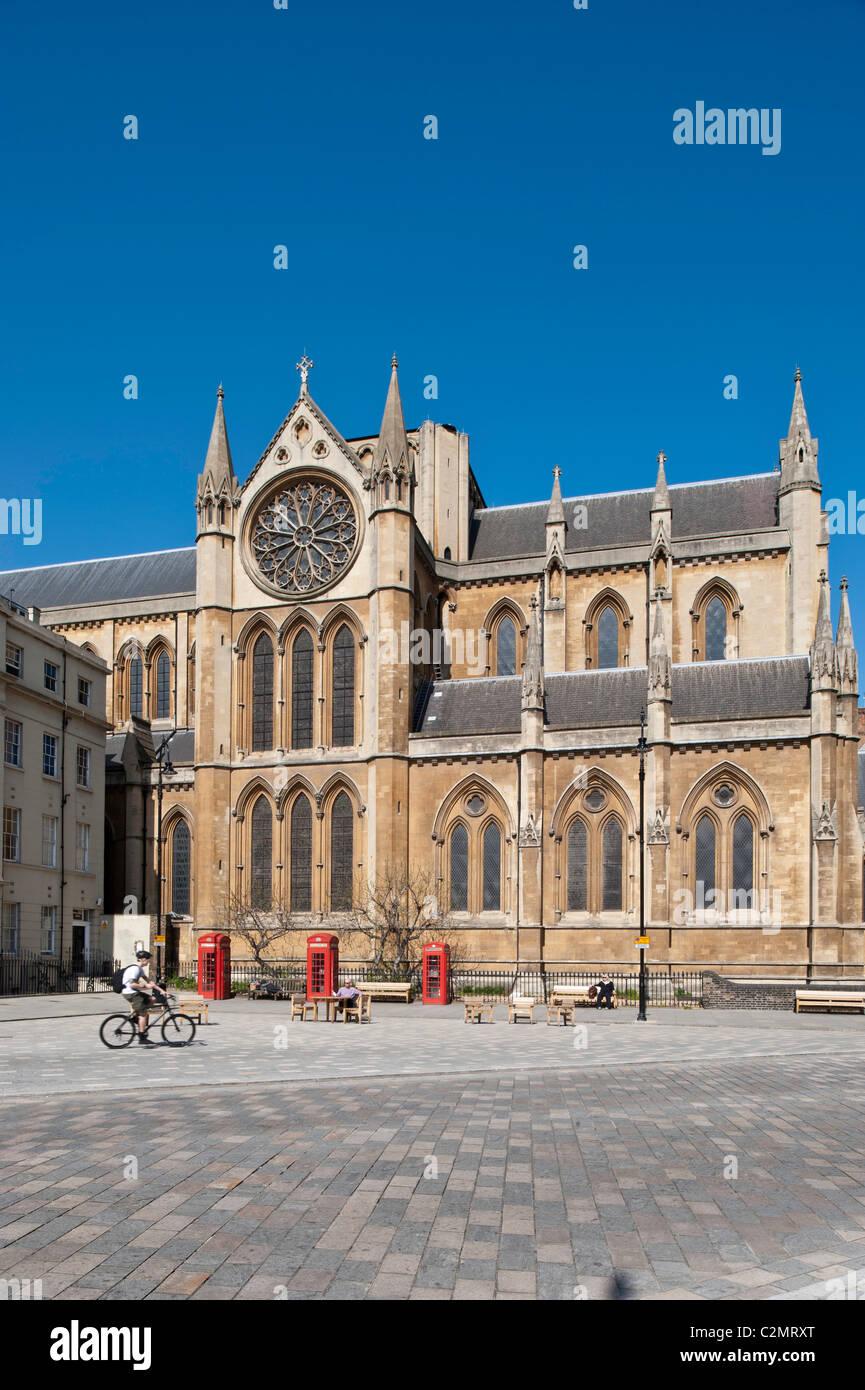 Church of Christ the King, Bloomsbury, London, United Kingdom - Stock Image