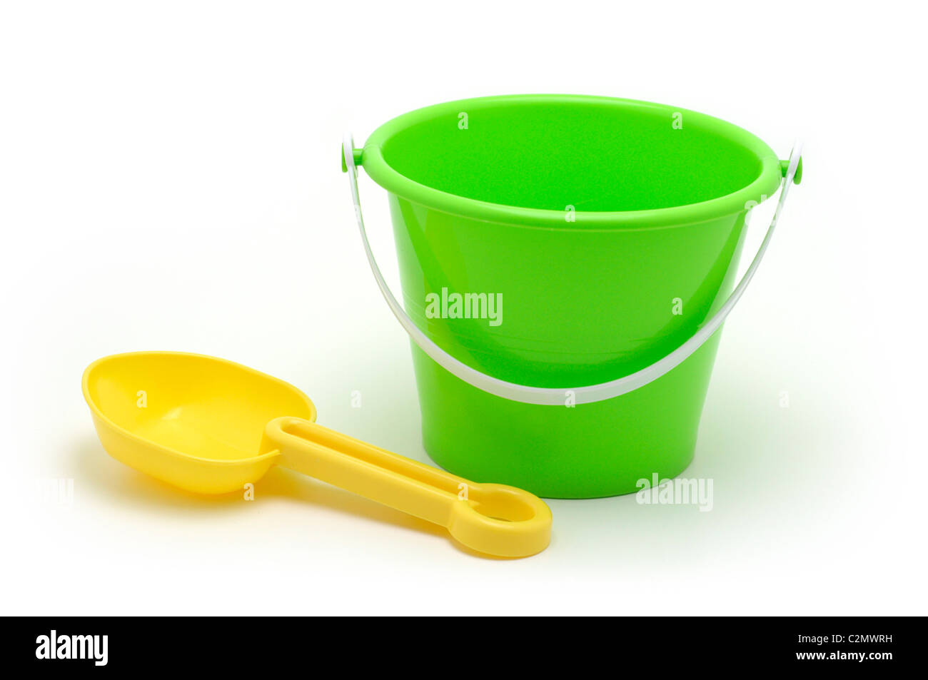 Bucket / Pail and Spade, Children's Toys - Stock Image