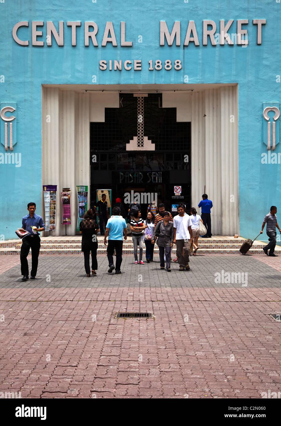 Central Market, Kuala Lumpur - Stock Image