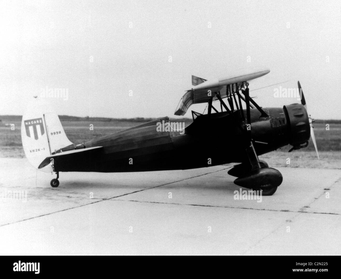 Fairchild XR2L-1, Fairchild 22 monoplane aircraft - Stock Image