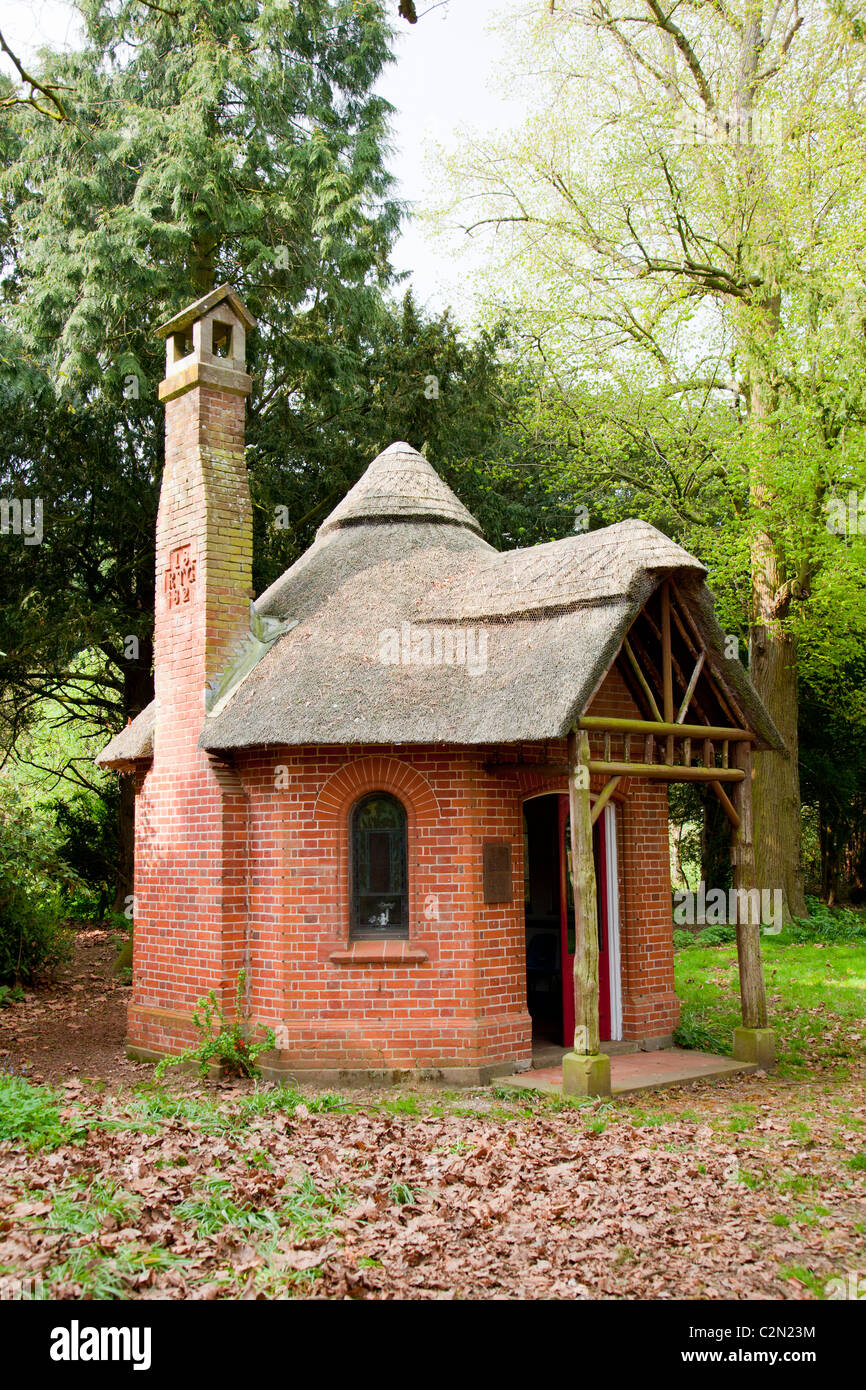 Letton Hall summerhouse - Stock Image