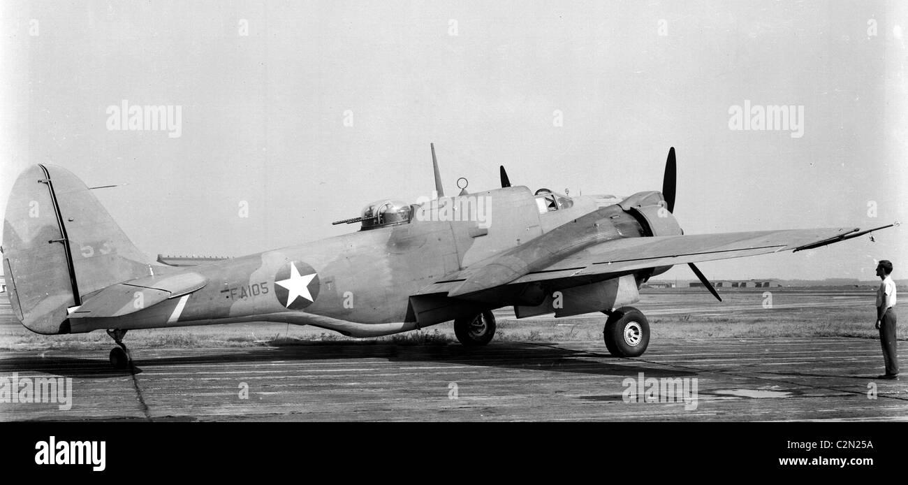 Martin RA-30 Baltimore bomber aircraft - Stock Image
