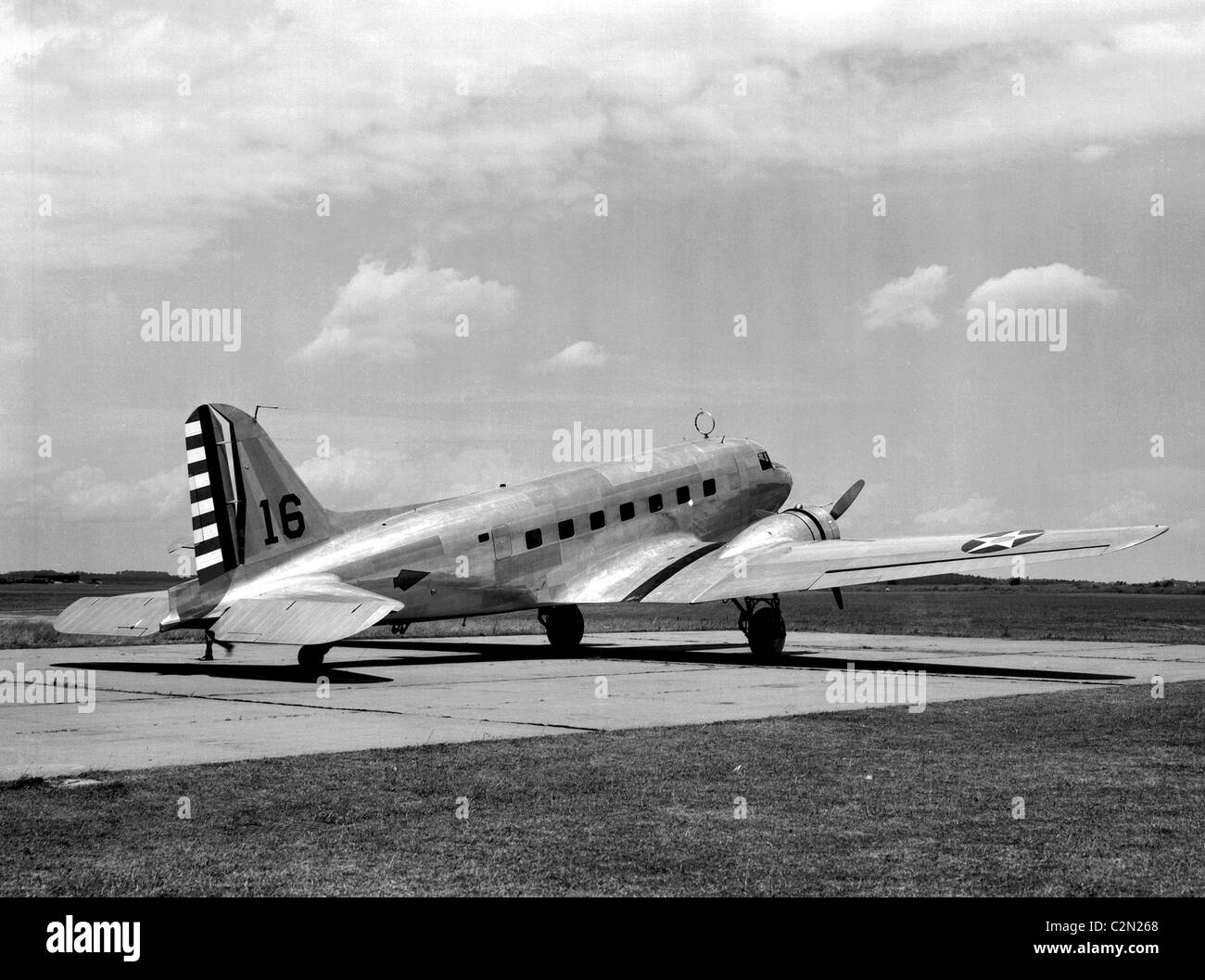 Douglas C-39: The Douglas C-39 was a military transport version of the Douglas DC-2 airliner. - Stock Image