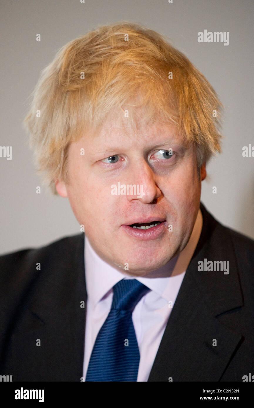 London Mayor, Boris Johnson - Stock Image