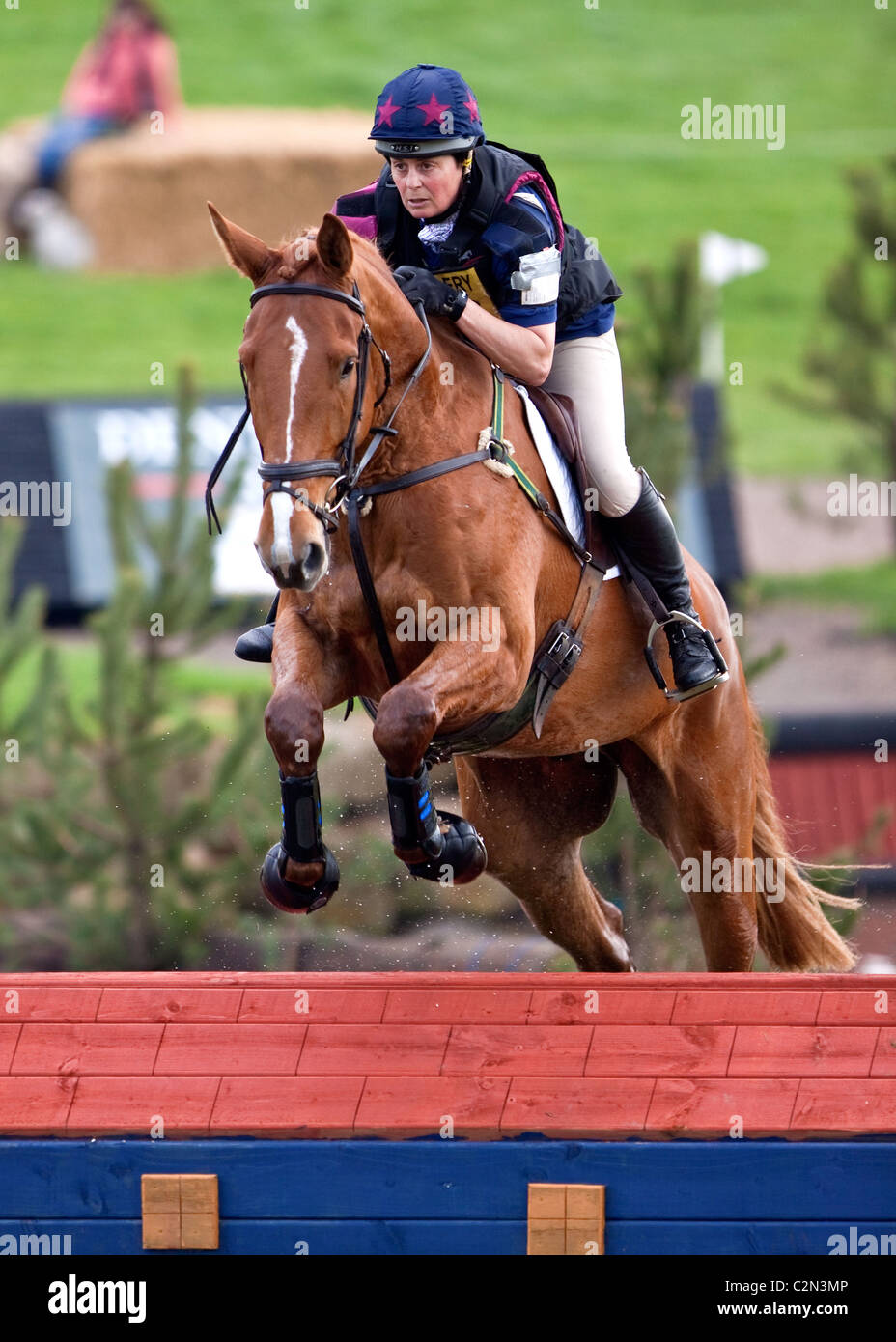 Cross Country Eventing - Stock Image