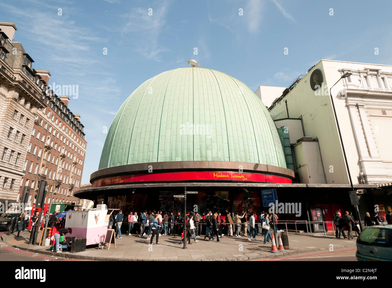 Madame Tussauds in London,England - Stock Image