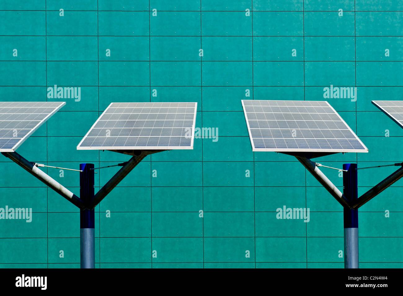 solar panels  - Stock Image