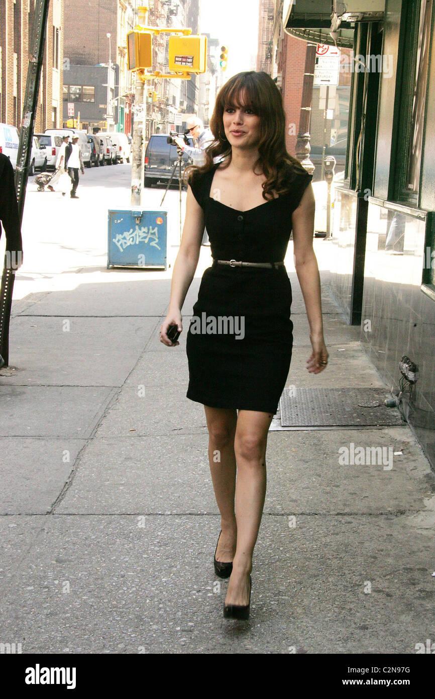 43c84307b91 Rachel Bilson wearing Christian Louboutin shoes and clothes she ...