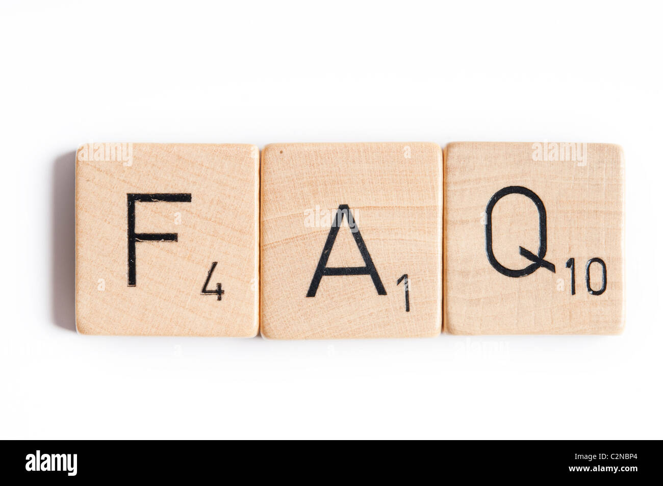 Frequently Asked Questions concept - Stock Image
