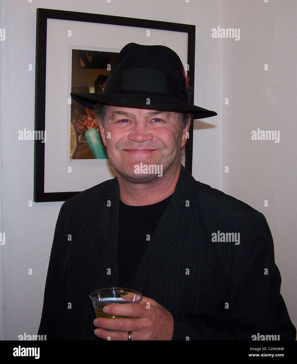 Mickey Dolenz * It girl, muse and one-time Mrs. Eric Clapton and Mrs. George Harrison, Pattie Boyd, launched her - Stock Image