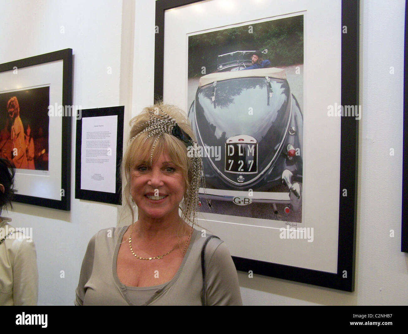 Pattie Boyd * It girl, muse and one-time Mrs. Eric Clapton and Mrs. George Harrison, Pattie Boyd, launched her latest - Stock Image