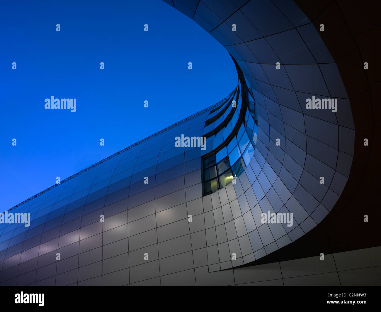 Dublin Airport, Terminal 2. Exterior of walkway. - Stock Image