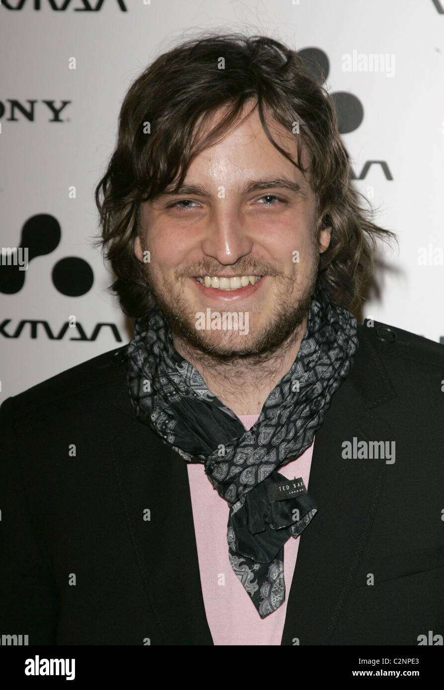 James Walsh Walkman Spring Fling party at Reliance Square - Arrivals London, England - 10.04.08 - Stock Image