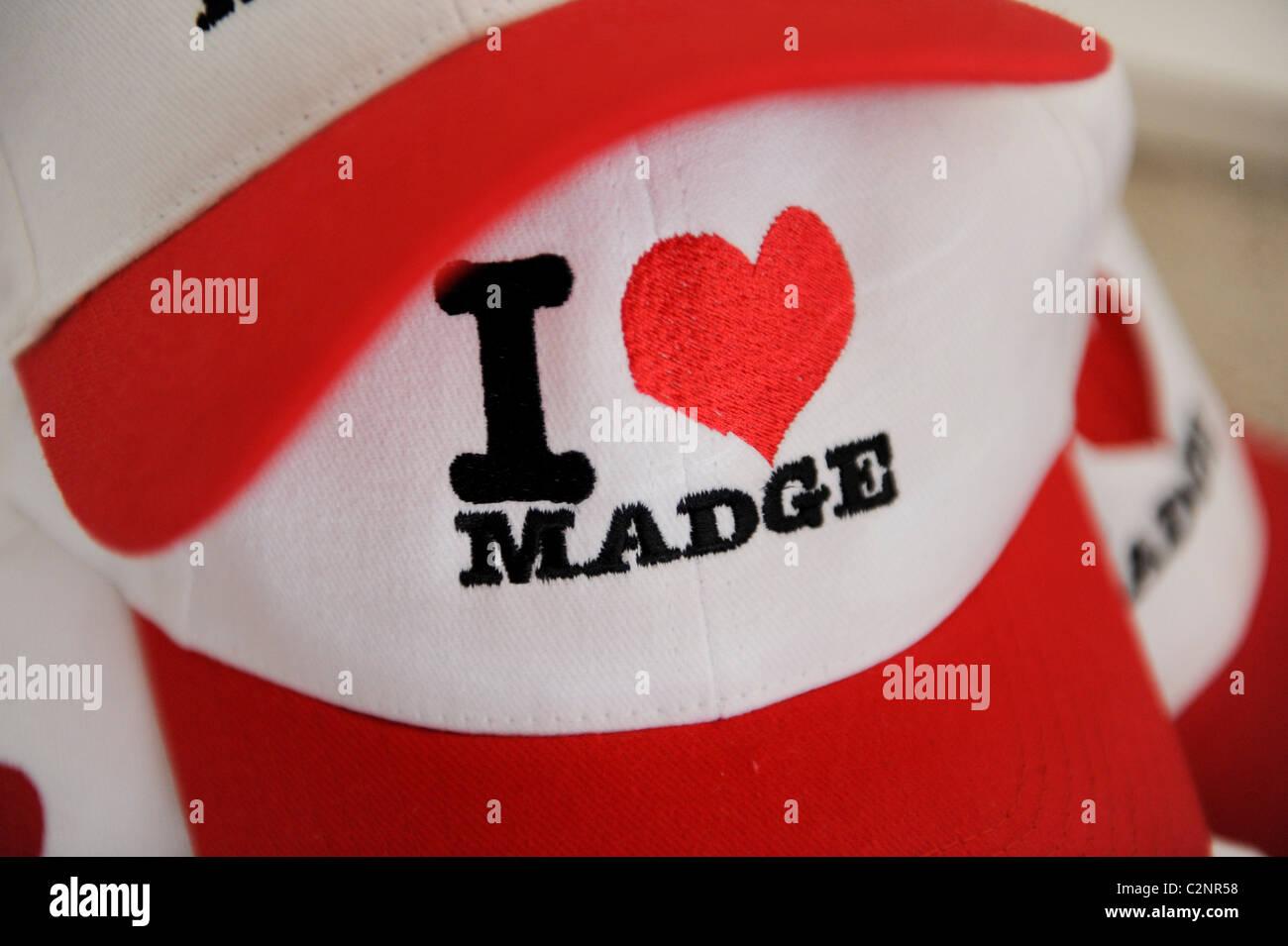 Madonna memorabilia - Stock Image