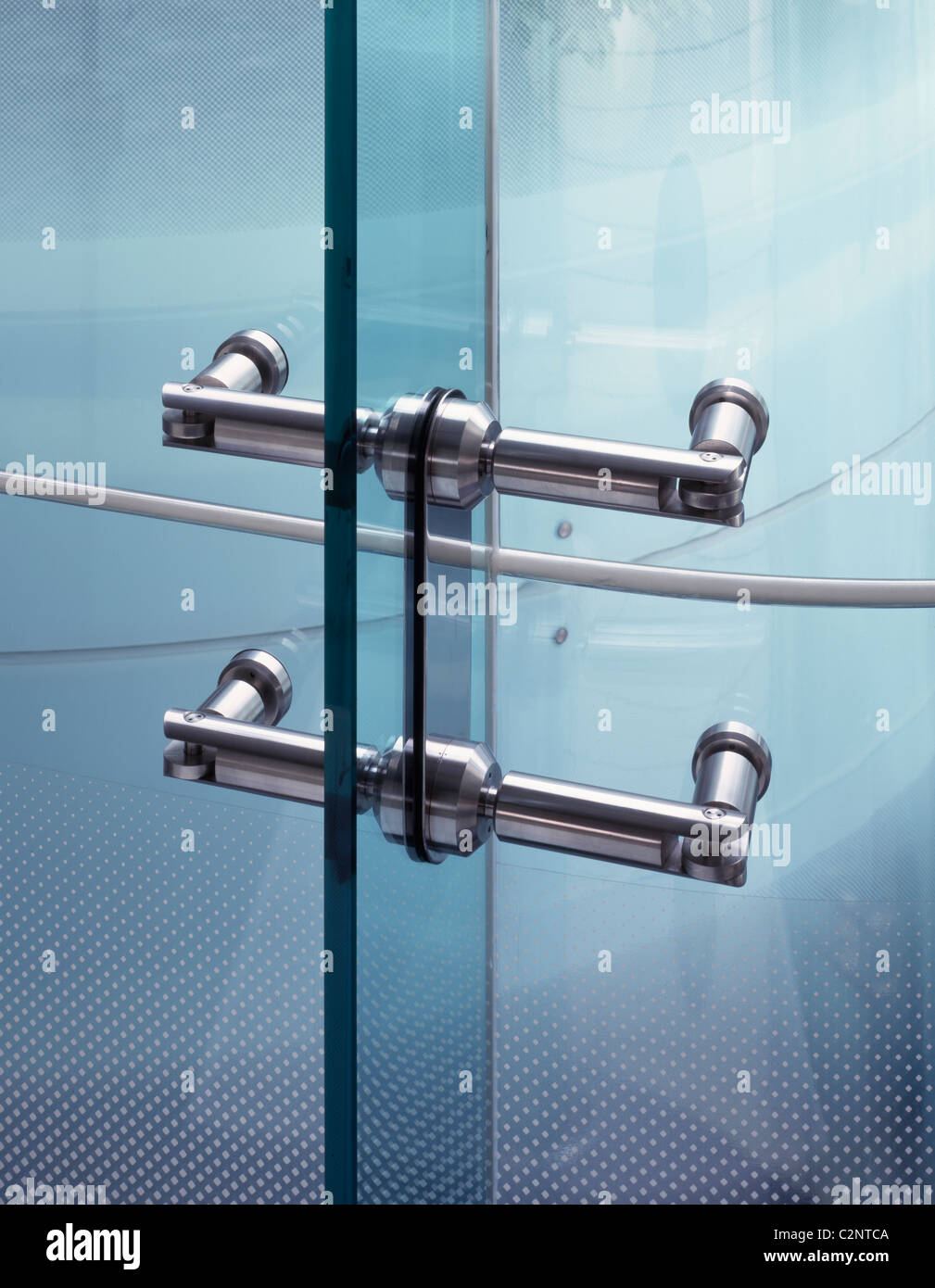 Criterion, London. Glazing detail. - Stock Image