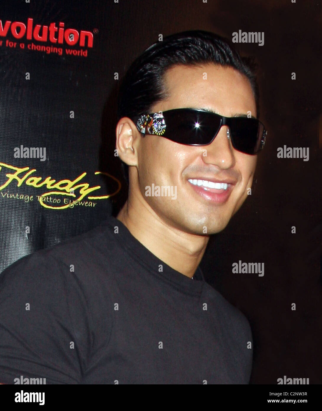 bff9977bed4e Mario Lopez appears at Vision East Expo for Revolution Eyewear New York City