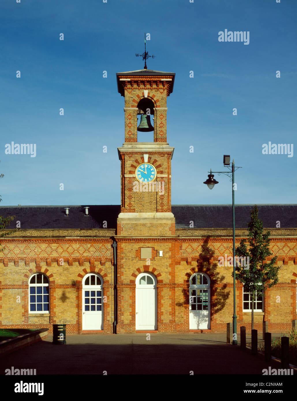 RSA IV Enfield, London. Clock Tower. - Stock Image