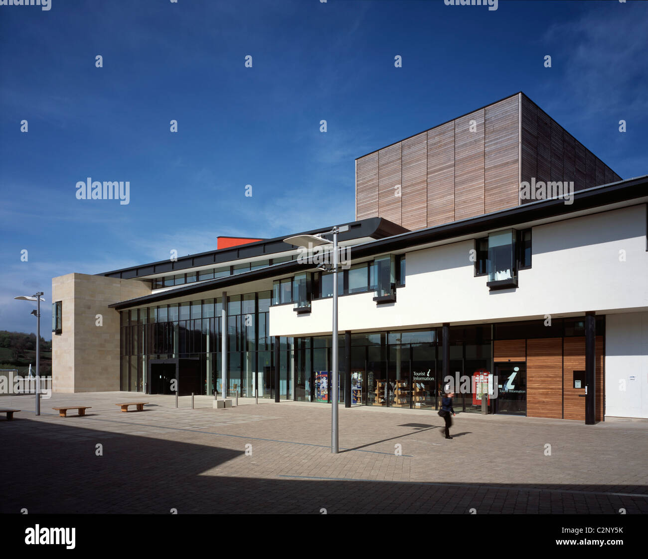 Durham Millennium City Durham North East Gala Theatre Stock Photo