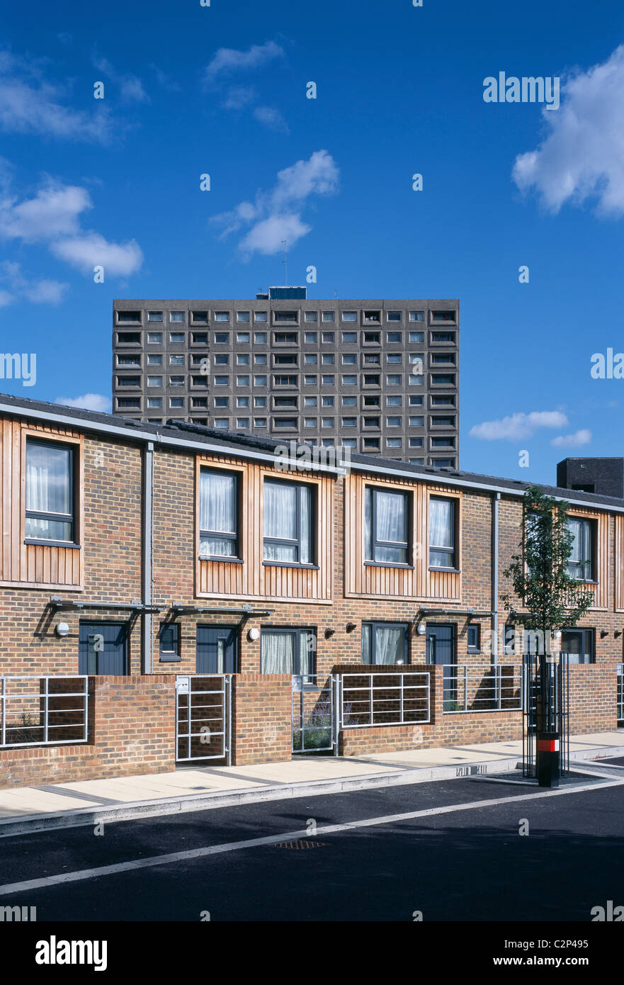 Stonebridge Estate, London. Phase 3. - Stock Image