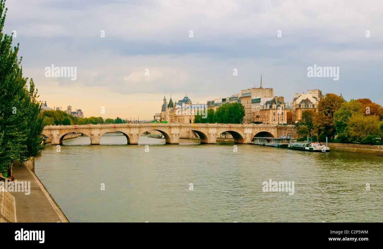 Pont-Neuf bridge in Paris - Stock Image