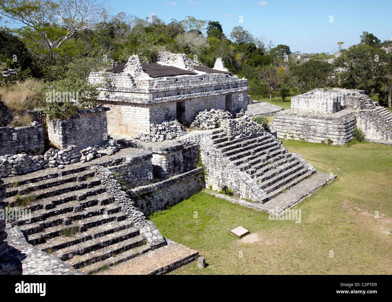 Ek Balam Mayan Ruins Mexico - Stock Image