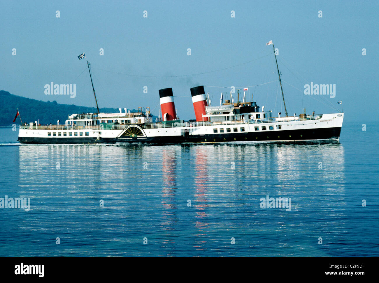 SS Waverley Paddle Steamer Steamers Paddles Steam Transport Boat Boats Ship Ships Vessel Vessels UK Funnel Funnels
