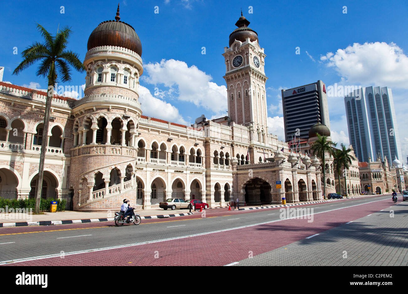 Sultan Abdul Samad Building, Kuala Lumpur - Stock Image
