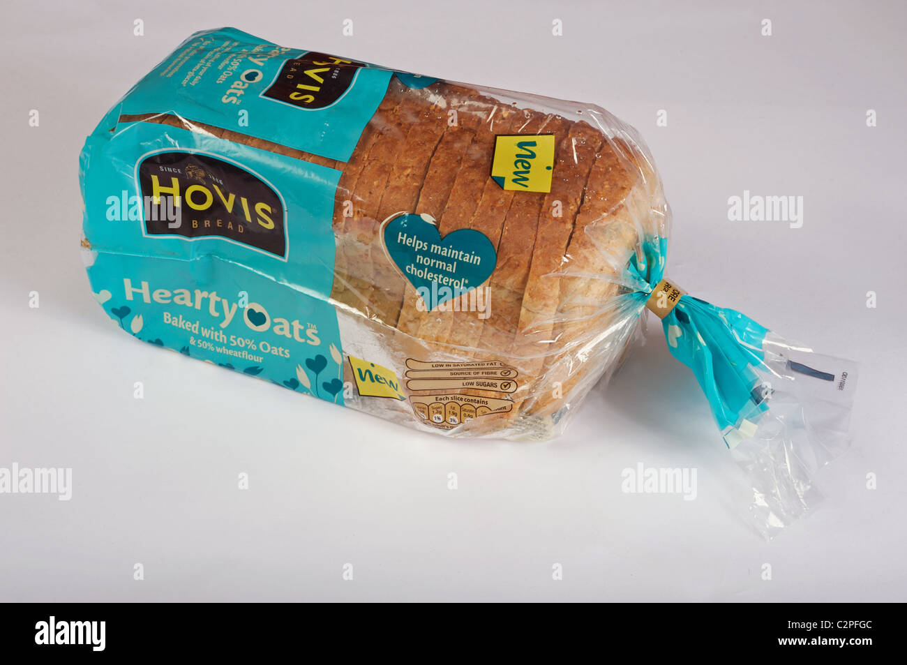 Hovis Hearty Oats bread - Stock Image