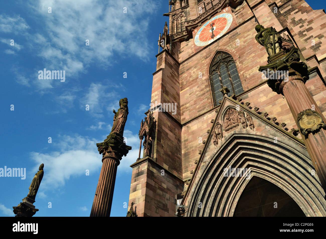 Freiburg Minster Stock Photo