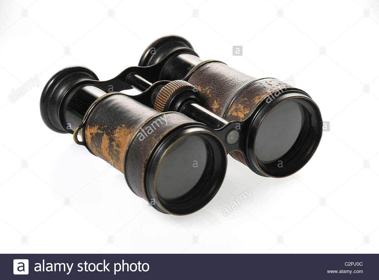 Binoculars historically - Stock Image