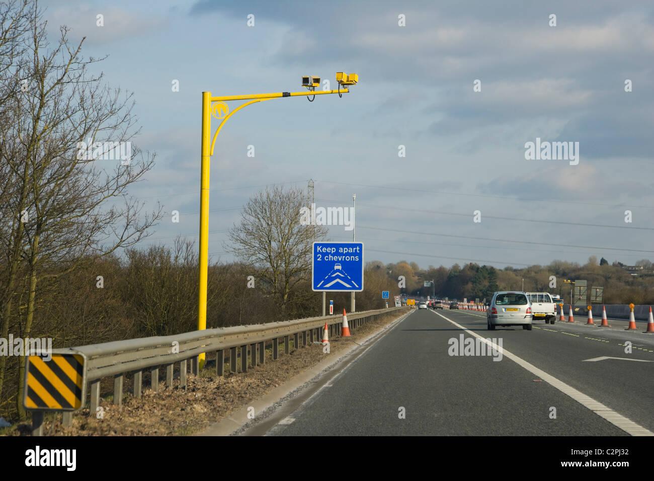 Average Speed Cameras Uk Stock Photos & Average Speed