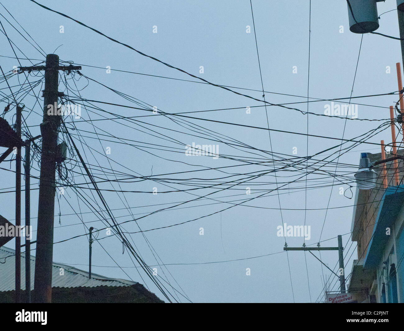 Wire Jumble Stock Photos & Wire Jumble Stock Images - Alamy