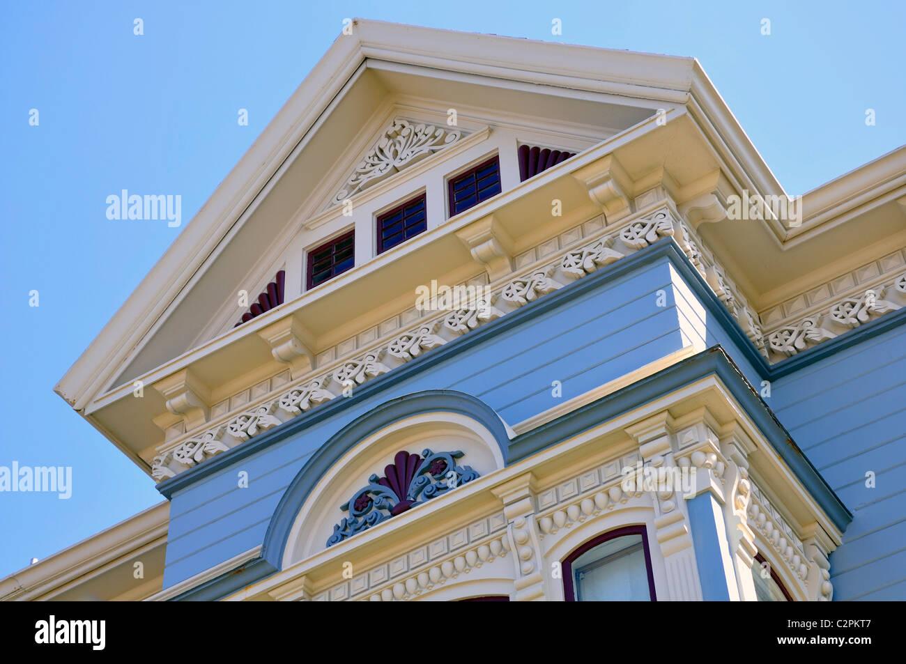 Victorian house, Eureka, California, USA - Stock Image