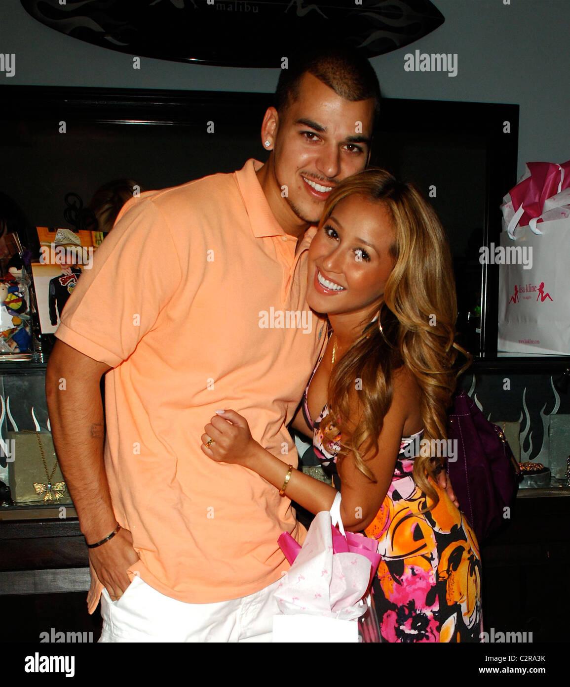 Is rob kardashian still dating the cheetah girl