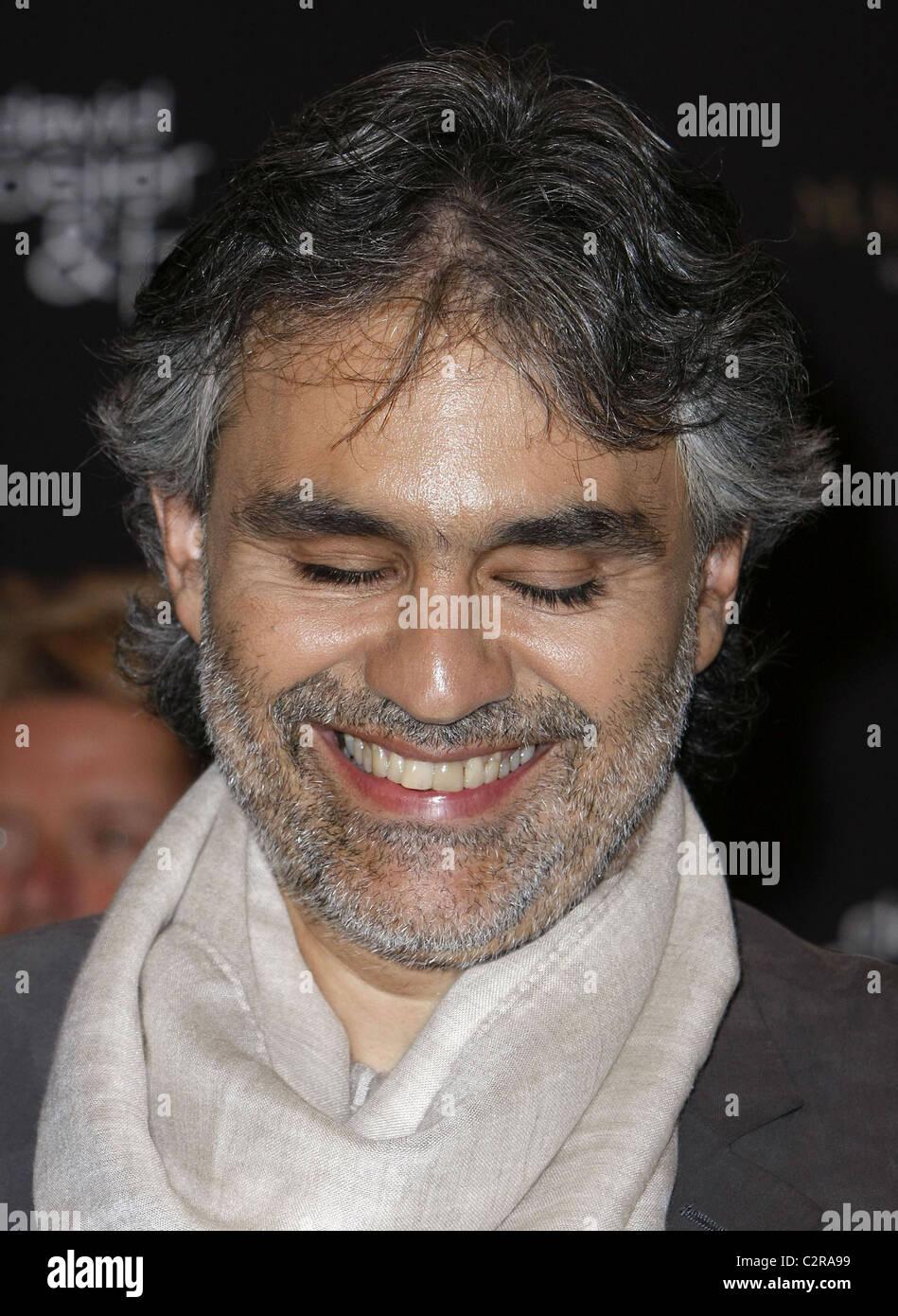 Andrea Bocelli Press Conference for 'David Foster & Friends