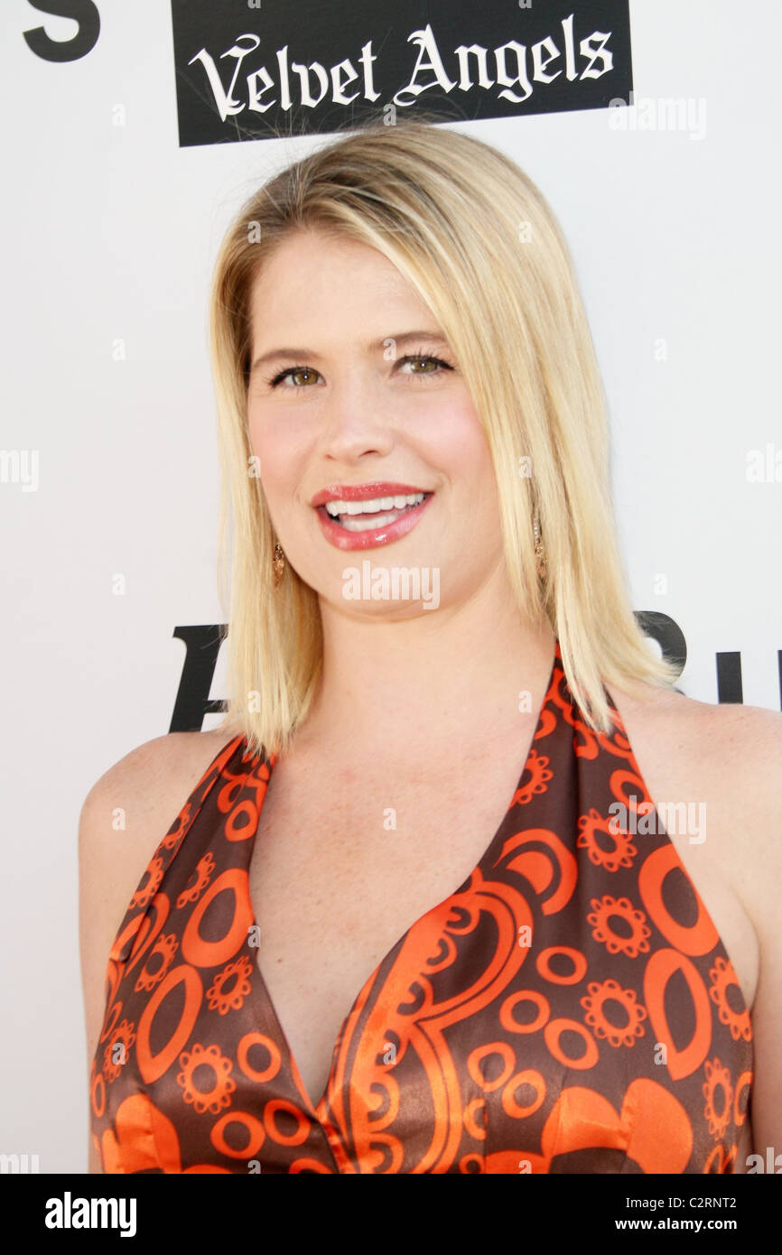 Kristy Swanson Celebrity Poker Classic hosted by Hollywood Life Magazine  Los Angeles, California - 18.05.08 - Stock Image