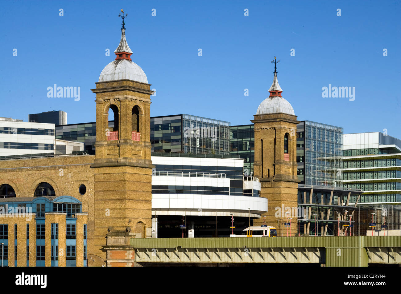 Cannon Street Station, London, England - Stock Image