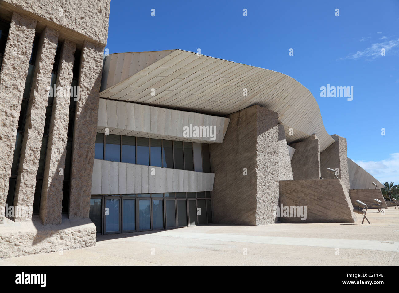 MAGMA - the futuristic Convention Center in Las Americas, Canary Island Tenerife, Spain - Stock Image