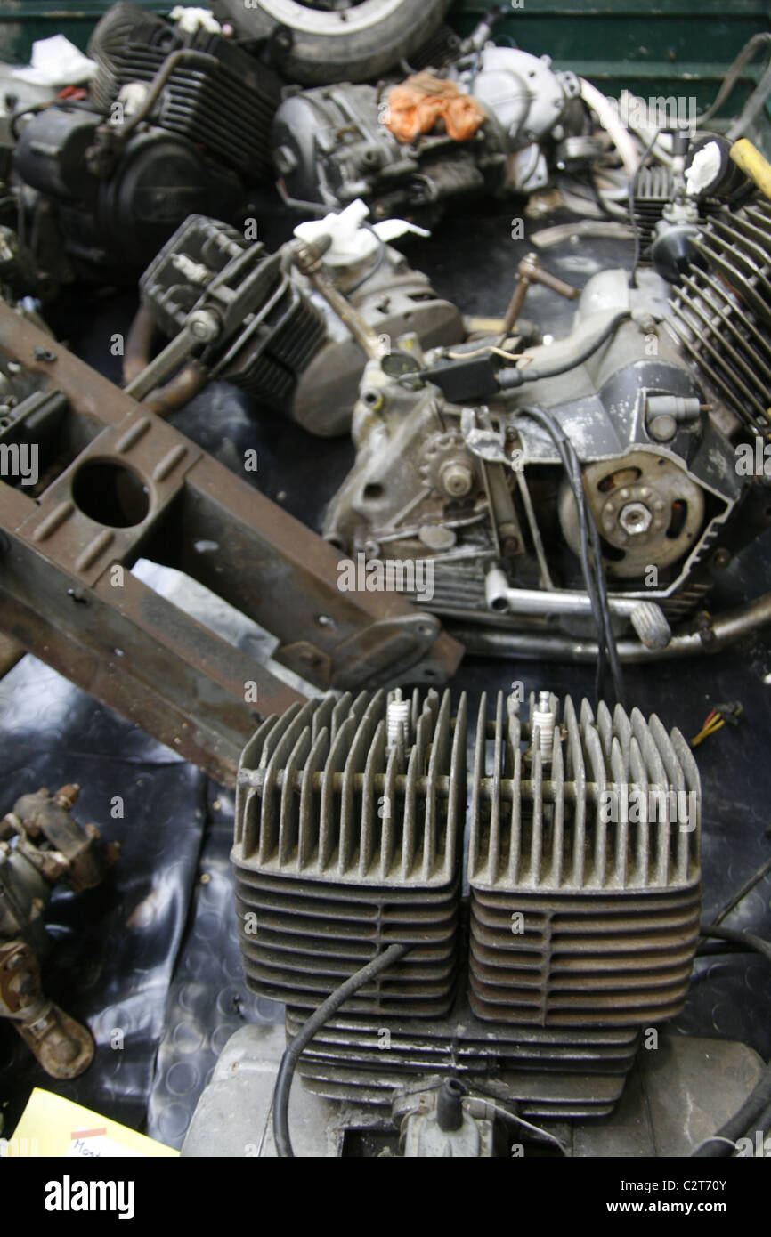 spare parts for sale at vintage car show event Stock Photo: 36182411 ...