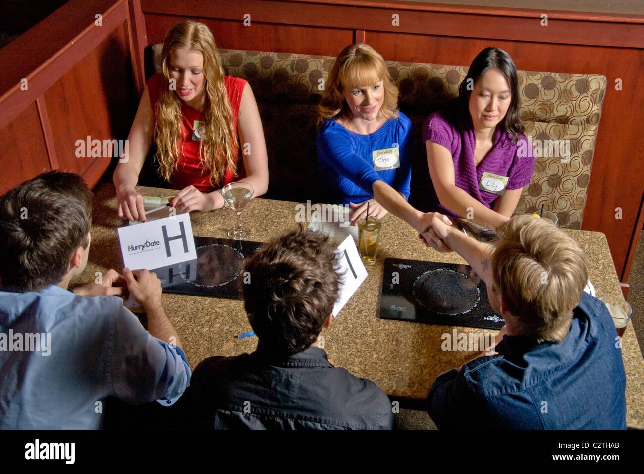 speed dating restaurant