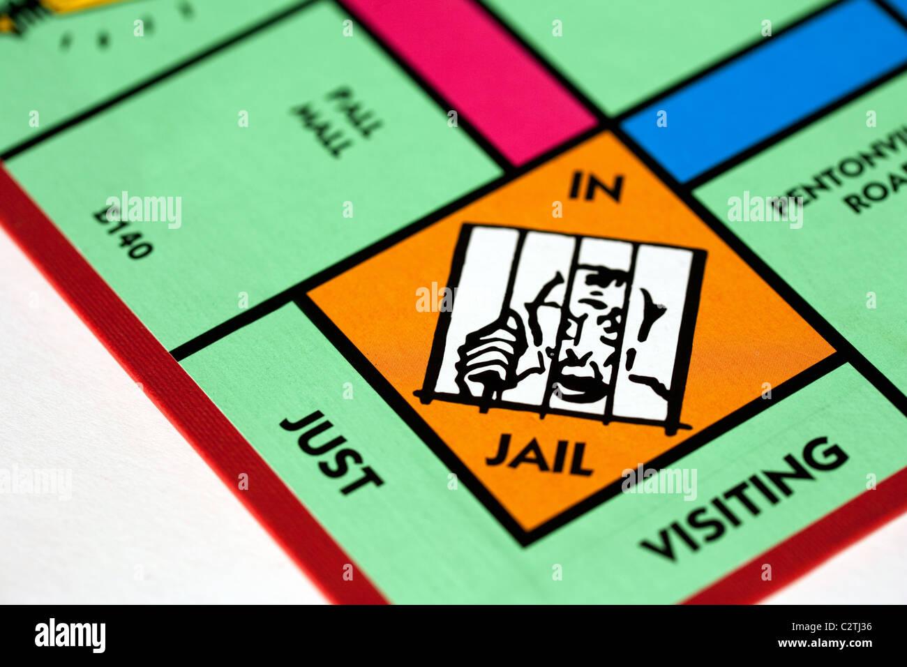 british monopoly board