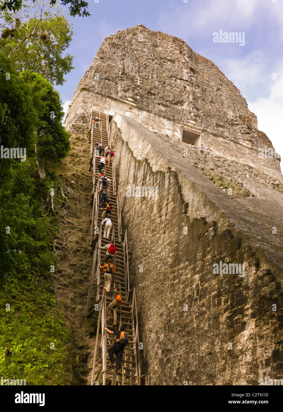 Tikal Guatemala - Stock Image