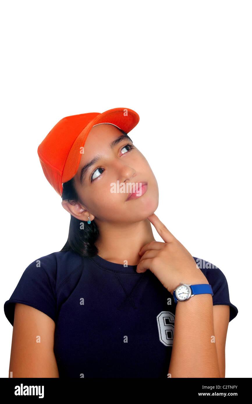 Cute Indian Teenage Girl Stock Photos & Cute Indian