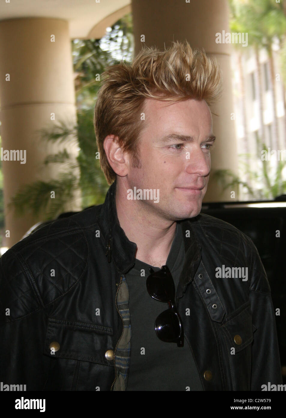 Ewan Mcgregor Promotes Long Way Down At The Summer 2008 Tca Session Stock Photo Alamy