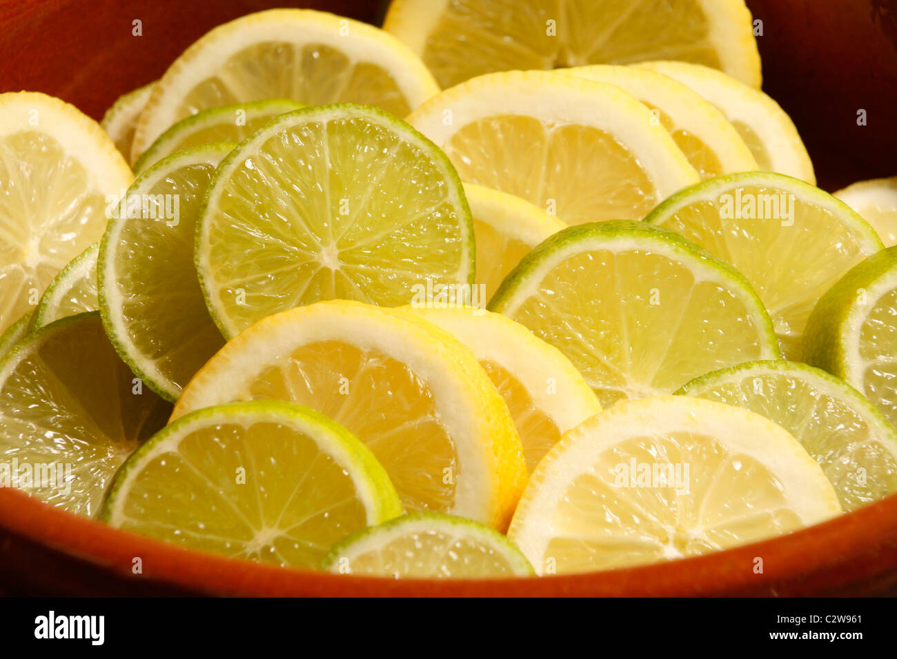 Lemons and Limes - Stock Image