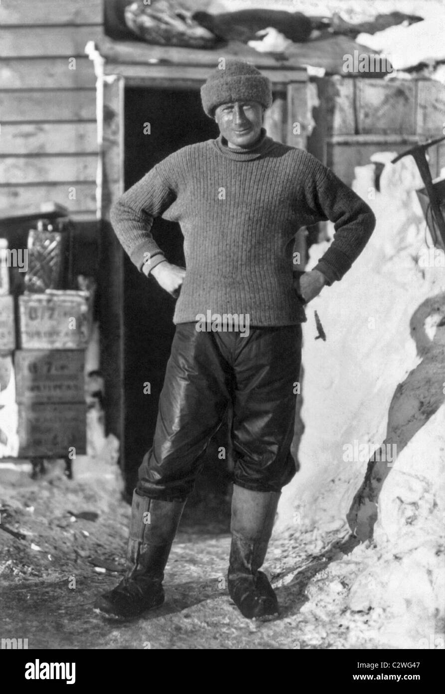 Dr Edward Wilson (1872 - 1912) - a member of Robert Scott's Terra Nova Expedition that perished after reaching - Stock Image
