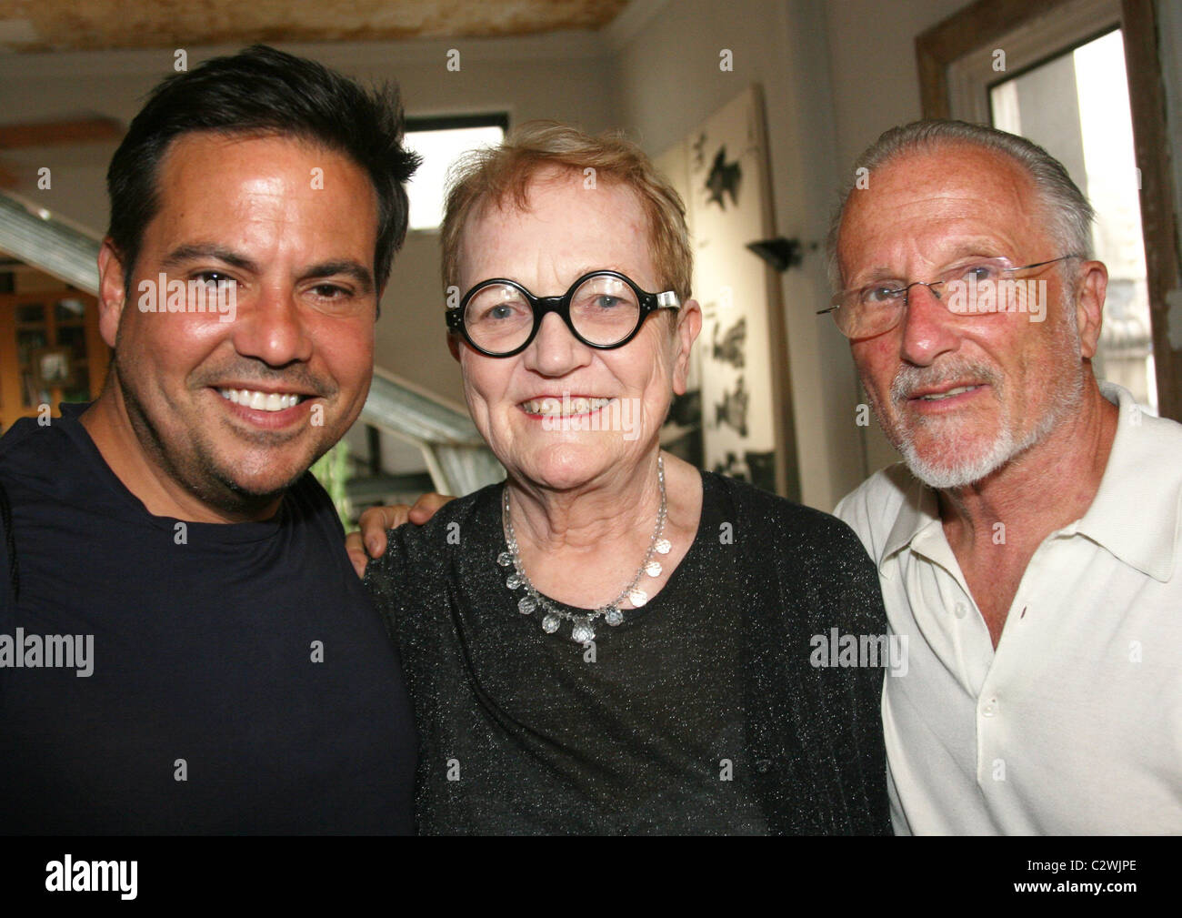Narciso Rodriguez, Mary Lou Luther and Stan Herman attend 'The Couture Council of the Museum at FIT Celebrates - Stock Image